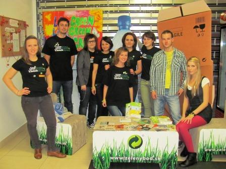 Podujatia ENVI-PAK, podporujúce zber odpadov